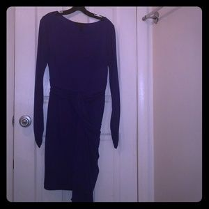 BCBG MaxAzria Long sleeved fitted dress